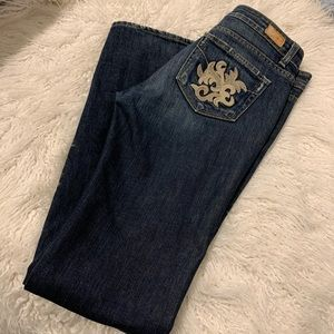 """Paige """"Melrose"""" Jeans, fabulous detail distressed"""
